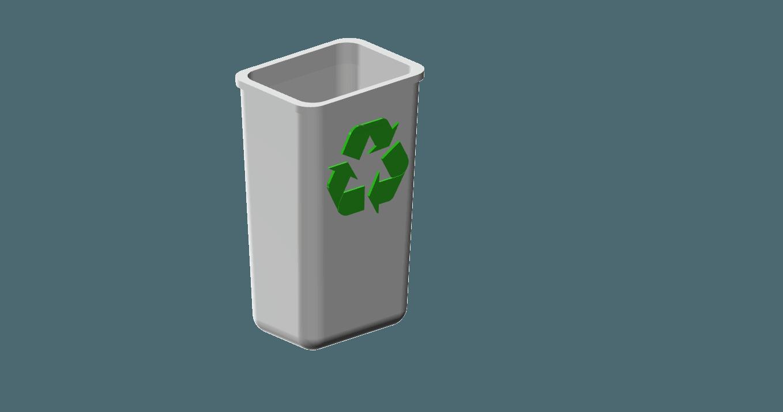 recycle bin 2.png Télécharger fichier STL gratuit corbeille 1/10 • Modèle imprimable en 3D, wavelog