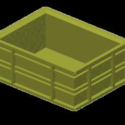 Plan imprimante 3D gatuit Caisse de 15L 1/10, wavelog