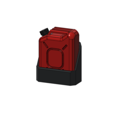3D printer models Jerrycan 1/10, wavelog