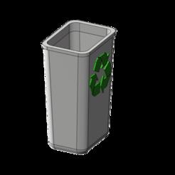 Free STL recycle bin 1/10, wavelog