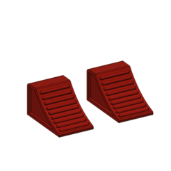Télécharger fichier 3D gratuit cale de roue 1/10, wavelog