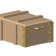 Free 3D print files wooden box 1/10, wavelog