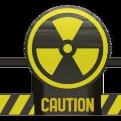 STL file fan cover ender 3 (radioactive), wavelog