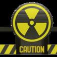 Download STL fan cover ender 3 (radioactive), wavelog