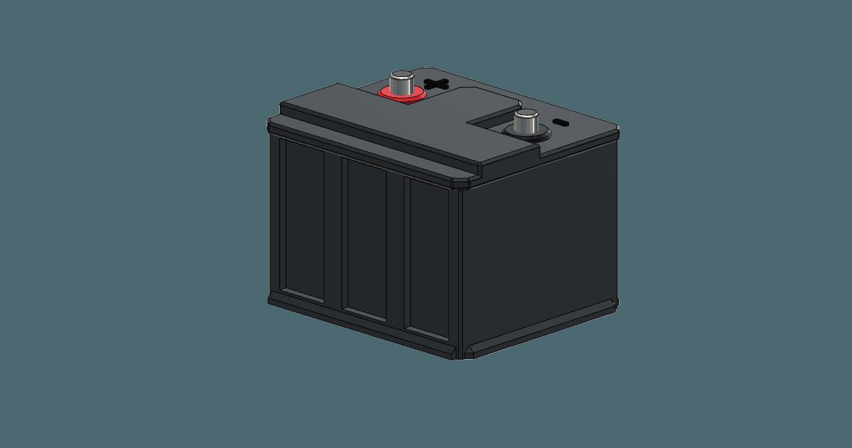 battery2.png Download free STL file battery 1/10 • 3D printable design, wavelog
