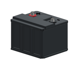 Download free 3D printing models battery 1/10, wavelog