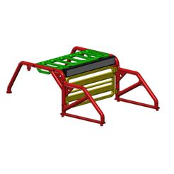 Download 3D printer designs Rubicon hard body Roll Bar RC crawler 1/10, wavelog