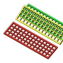 Plan imprimante 3D gatuit échelle à sable 1/10, wavelog