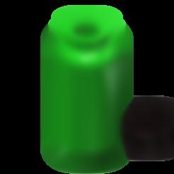1l camping bottle 3.stl Download free STL file 1l camping bottle 1/10 • 3D printer template, wavelog