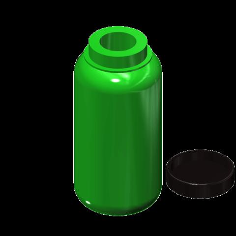 1l camping bottle 2.png Download free STL file 1l camping bottle 1/10 • 3D printer template, wavelog