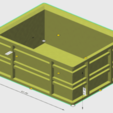 Download free 3D printing templates 15L crate 1/10, wavelog