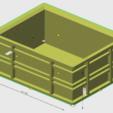 Free 3D printer model 15L crate 1/10, wavelog