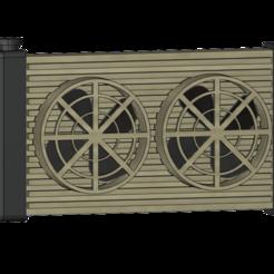 Descargar archivos 3D radiador 1/10, wavelog