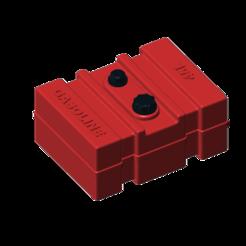 3D print files gasoline tank 45l 1/10, wavelog