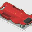 Modelos 3D Tabla enredadera 1/10, wavelog