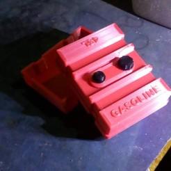 3D printer models gasoline tank 45L 1/10 (ESC / Receiver Box), wavelog