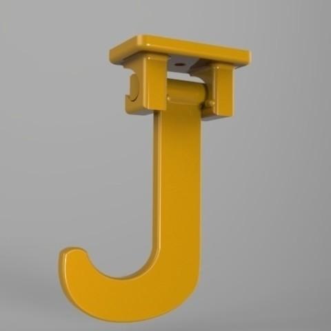 Télécharger fichier imprimante 3D gratuit Sous Meuble Crochet Banane, Fydroy