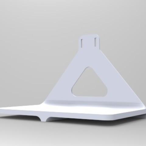 shelf_display_large.jpg Download free STL file Phone Charging Shelf • 3D printer template, Fydroy