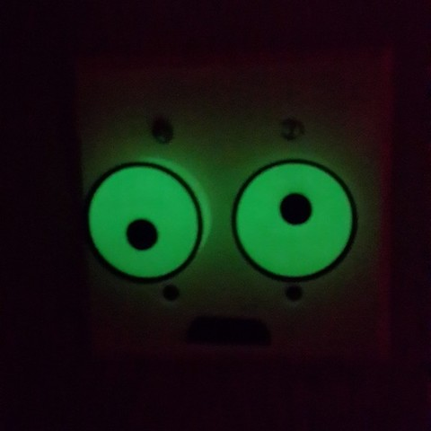 Download free 3D printer files Googly Eye Dimmer Switch, Fydroy