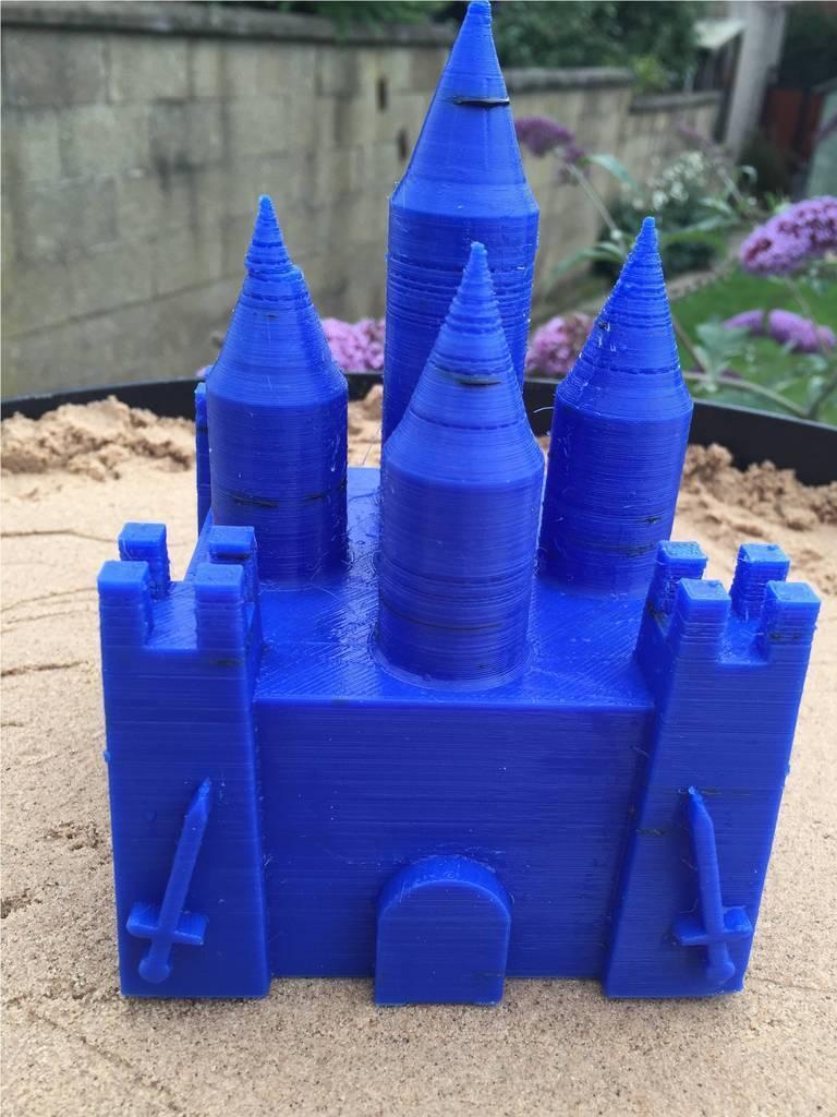 Picture2_display_large.jpg Télécharger fichier STL gratuit Moule de château de Spire • Design imprimable en 3D, Fydroy