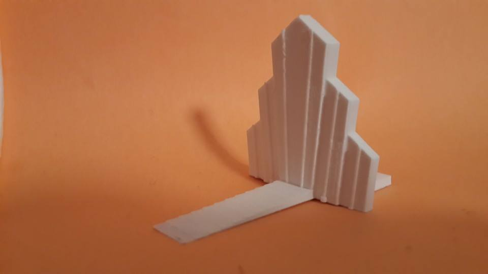 deco_display_large.jpg Download free STL file Art Deco Build Plate Scraper • 3D print model, Fydroy