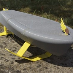 Download free 3D printer designs RC hydrofoil, Fydroy