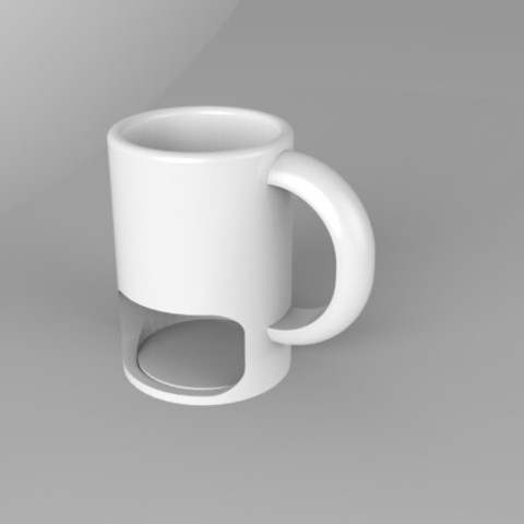 Download free 3D printer designs Cookie Mug, Fydroy