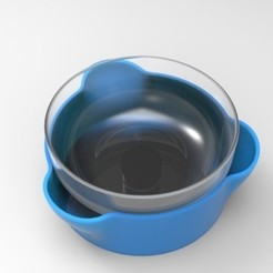 Free 3D printer designs Double Bowl, Fydroy