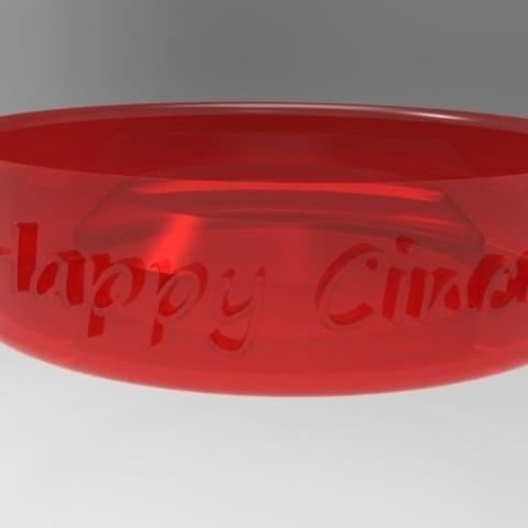redClear_display_large.jpg Download free STL file Cinco de Mayo Margarita Rim Salter • Template to 3D print, Fydroy