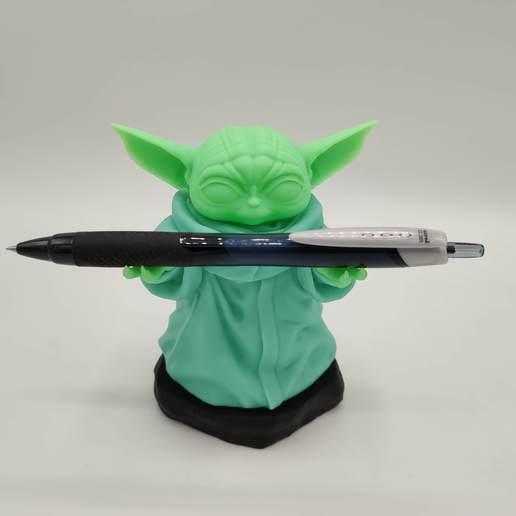 Descargar STL Mandaloriano - Yoda- bebé Yoda - Bebé Yoda - el niño, Imagin