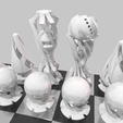 Download 3D model Design chess set - The perfect gift for a good friend, Rayjunx