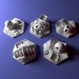 Download free 3D printer designs Custom city tile set for Terraforming Mars - Cities 1-5, Rayjunx