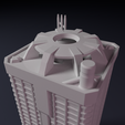 Download 3D printer files Apartment block - Building - For board games like Monsterpocalypse, Rayjunx