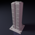 STL files Skyscraper - Building - For board games like Monsterpocalypse, Rayjunx