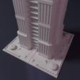 Download free 3D print files Skyscraper - Building - For board games like Monsterpocalypse, Rayjunx
