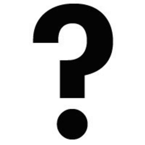 3D printing model question mark, anonimodesconocido