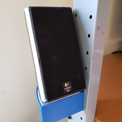 Download free 3D printer templates Speaker Shelf for Ikea Jerker, danielbeaver