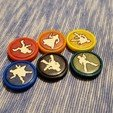 Download free 3D printing templates Dune Board Game Trooper Token Inserts, danielbeaver