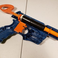 Download free 3D printing models Nerf Tech Target barrel replacement, danielbeaver