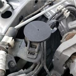 Télécharger objet 3D gratuit Bouchon du réservoir de liquide d'essuie-glace de la Mazda 3, danielbeaver