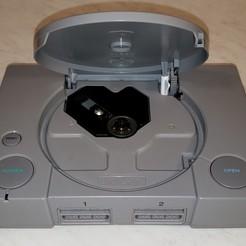PS1 Tray Button Tool 1.jpg Download free STL file PlayStation 1 CD Tray Sensor Tool • 3D printing template, danielbeaver
