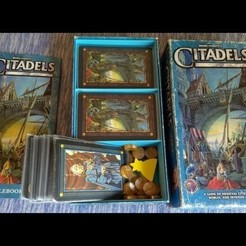 Download free 3D print files Citadels Board Game Insert, danielbeaver
