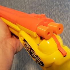 Download free 3D printer templates Buzz Bee shells for dart shooters, danielbeaver