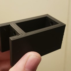 20201102_213001.jpg Download free STL file V-slot mounted side-laying risers for CR-10 • 3D printing object, danielbeaver