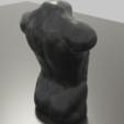 Download free 3D printer model Man Torso sculpture STL 3MF OBJ Free 3D model, GuillermoMX