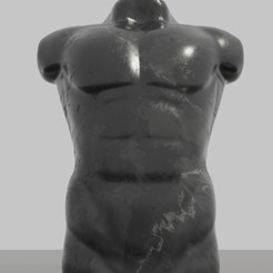 Download free 3MF file Man Torso sculpture STL 3MF OBJ Free 3D model • 3D printable design, GuillermoMX
