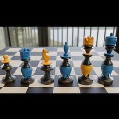 untitled2.jpg Download 3MF file 3d Printable Mexican Chess Pieces stl 3mf obj • 3D printing template, GuillermoMX