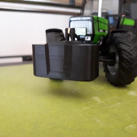 20190729_165003.jpg Télécharger fichier STL gratuit Masse Suer 700kg • Modèle pour imprimante 3D, toms68