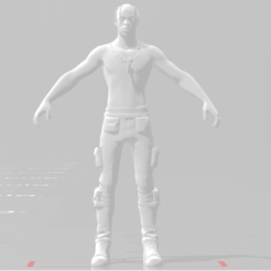 Download free STL file Travis Scott Fortntie • 3D print design, devilmayplay