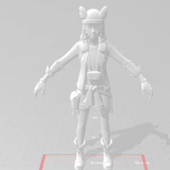 Skye.png Download free STL file Skye Fortnite • 3D printing design, devilmayplay